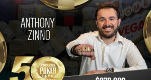 Anthony Zinno - Campeão Evento #60 - WSOP