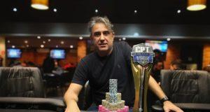 Alvaro Ribeiro campeão do Main Event do CPT