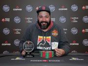 Bráulio Santos campeão do NoBreaks do BSOP Winter Millions