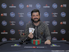 Fábio Guedes campeão do Pot-Limit Omaha do BSOP Winter Millions