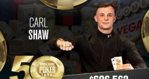 Carl Shaw campeão do Evento #89 da WSOP