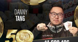 Danny Tang vence o Evento #90 da WSOP