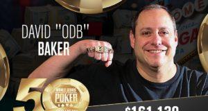 David Baker campeão do Evento #66 da WSOP