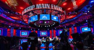 Mesa da TV - Main Event WSOP 2019