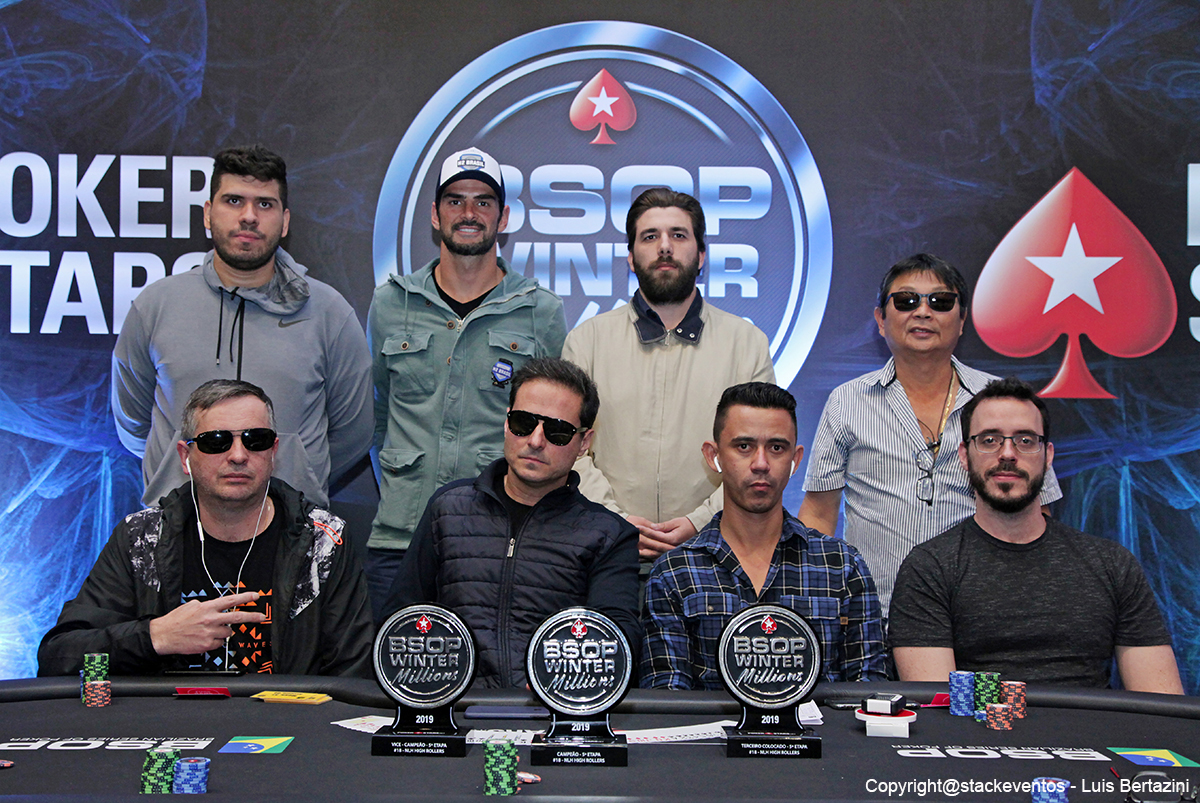 Mesa Final do High Roller do BSOP Winter Millions