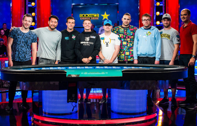 Mesa Final Main Event WSOP 2018