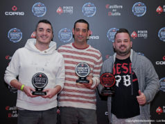 Leonardo Todasso, José Arenstein e Francilio Macgayver vencedores do BSOP Diamond Freeroll