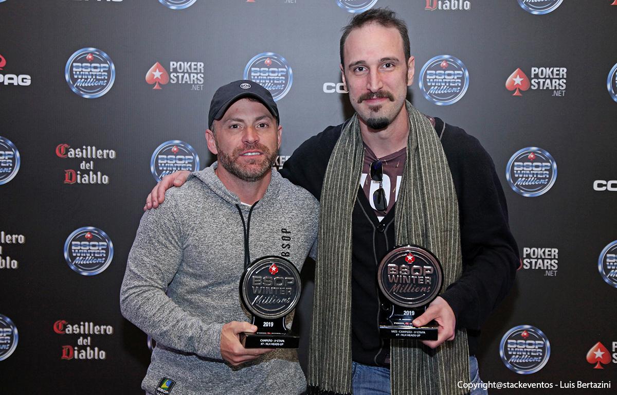 Finalistas do Heads-Up do BSOP Winter Millions