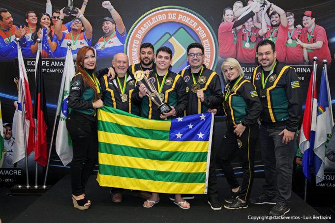 Seleção Goiana de Poker campeã do CBPE