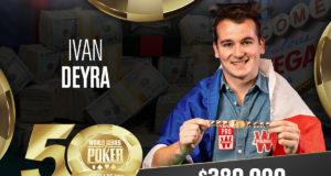 Ivan Deyra campeão do Evento #79 da WSOPq