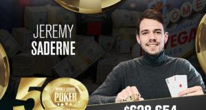 Jeremy Saderne campeão do Evento #69 da WSOP