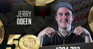 Jerry Odeen vence Evento #80 da WSOP