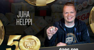 Juha Helppi campeão do Evento #72 da WSOP
