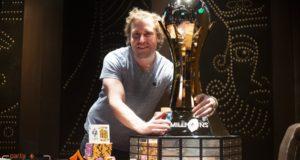 Tom Marchese campeão do partypoker MILLIONS Vegas