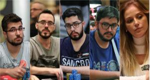 Victor Begara, Cássio Kiles, Éder Campana, Fernando Viana e Milena Magrini