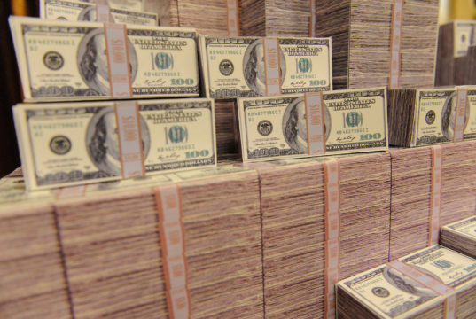 Pilha de dinheiro - WSOP 2019