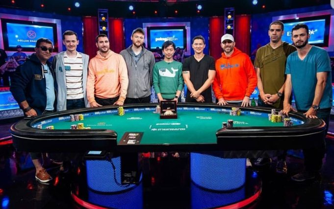 Mesa final da WSOP 2019