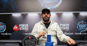 Camilo George campeão do 1-Day High Roller do BSOP Winter Millions