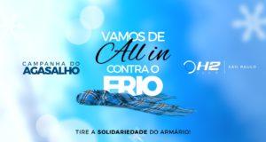 Campanha do Agasalho do H2 Club São Paulo