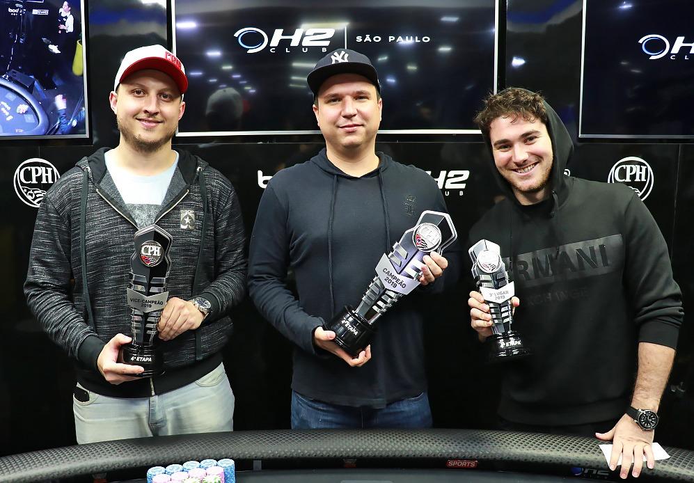 Marcos William, Lucas Henrique e Jaime Dayan - Main Event CPH 4ª etapa
