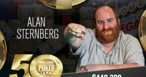 Alan Sternberg - Campeão Evento #85 - WSOP 2019