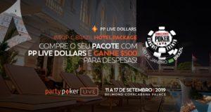 WSOP Brazil e partypoker LIVE lançam parceria