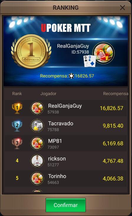 Primeiros colocados no R$ 50 mil garantidos da Liga Online H2 Brasil