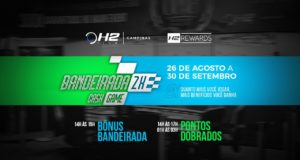 Bandeirada 2x Cash Game - H2 Club Campinas