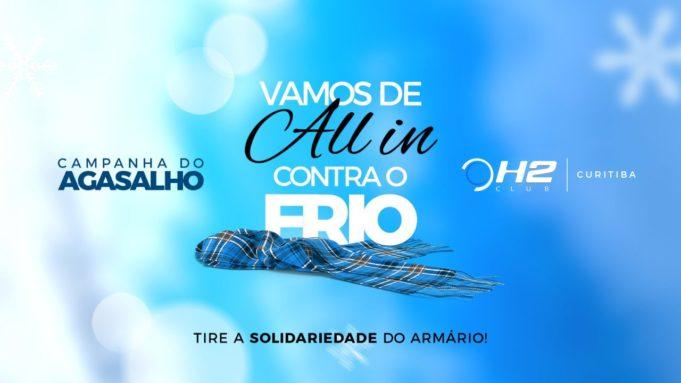 Campanha do Agasalho - H2 Club Curitiba