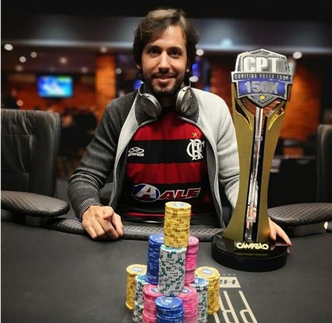 Jorio Gottardo campeão do Main Event do Curitiba Poker Tour