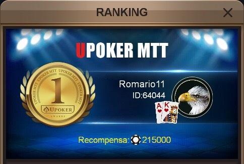 Romario11 campeão do H2 Million da Liga Online H2 Brasil