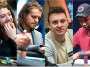 Igor Kurganov, Charlie Carrel, Sam Trickett e Phil Ivey