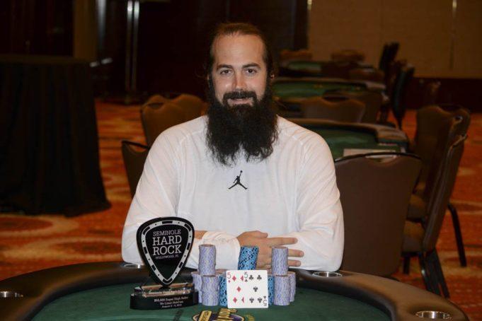 Jason Mercier campeão do Super High Roller do Seminole Hard Rock Poker Open