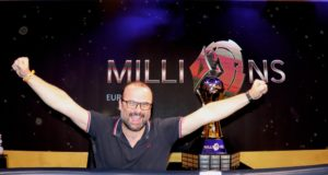 Lukas Zaskodny campeão do Main Event do MILLIONS Europa