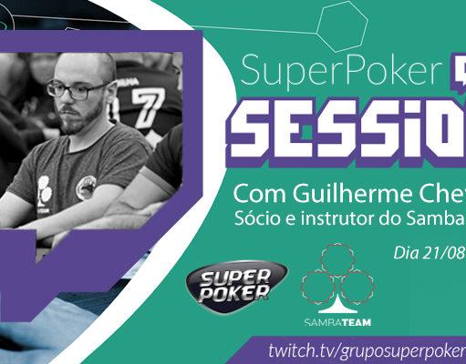 Twitch com Guilherme Cheveau