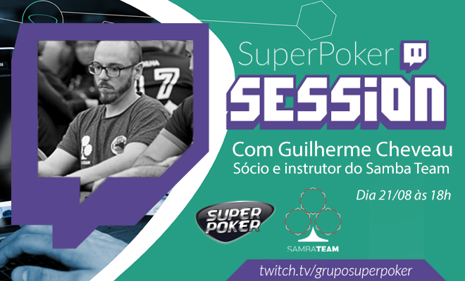 Twitch com Guilherme Cheveau