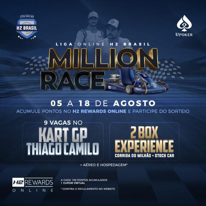 Million Race - Liga Online H2 Club Brasil