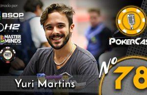 Yuri Martins no 78º episódio do Pokercast