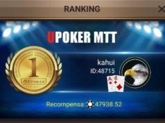 Kahui é campeão do High Roller da Liga Online H2 Brasil