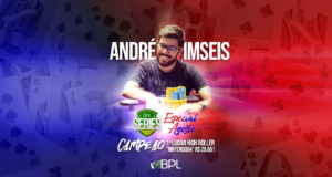 Andre Imseis - Campeão High Roller BPL Series Especial de Agosto