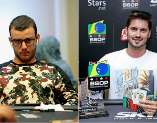 André Busato e William de Oliveira