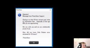 Mensagem Spraggy PokerStars