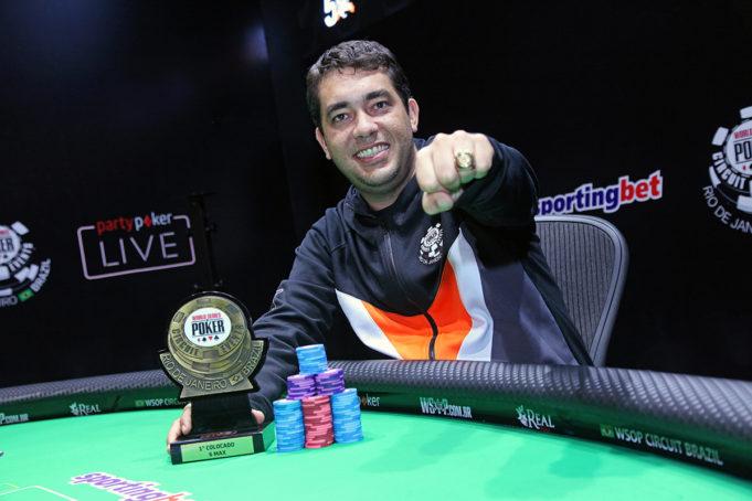 Felipe Brasil - Campeão 6-Handed WSOP Brazil