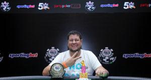 Jeferson Costa - Campeão 8-Game - WSOP Brazil
