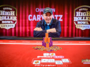 Cary Katz campeão do Super High Roller Bowl Londres (Foto: PokerCentral)