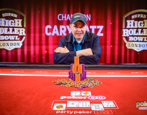 Cary Katz campeão do Super High Roller Bowl Londres (Foto: PokerCentral)