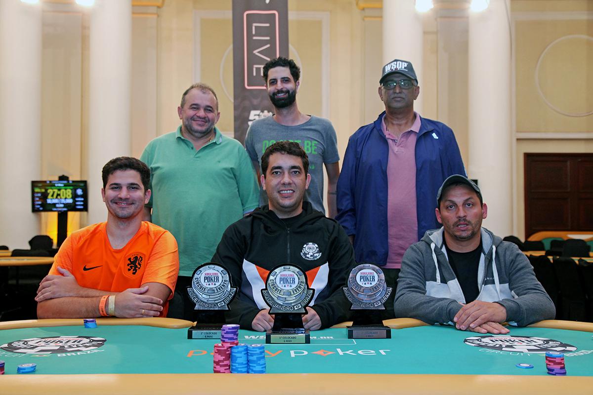Mesa final 6-Handed - WSOP Brazil