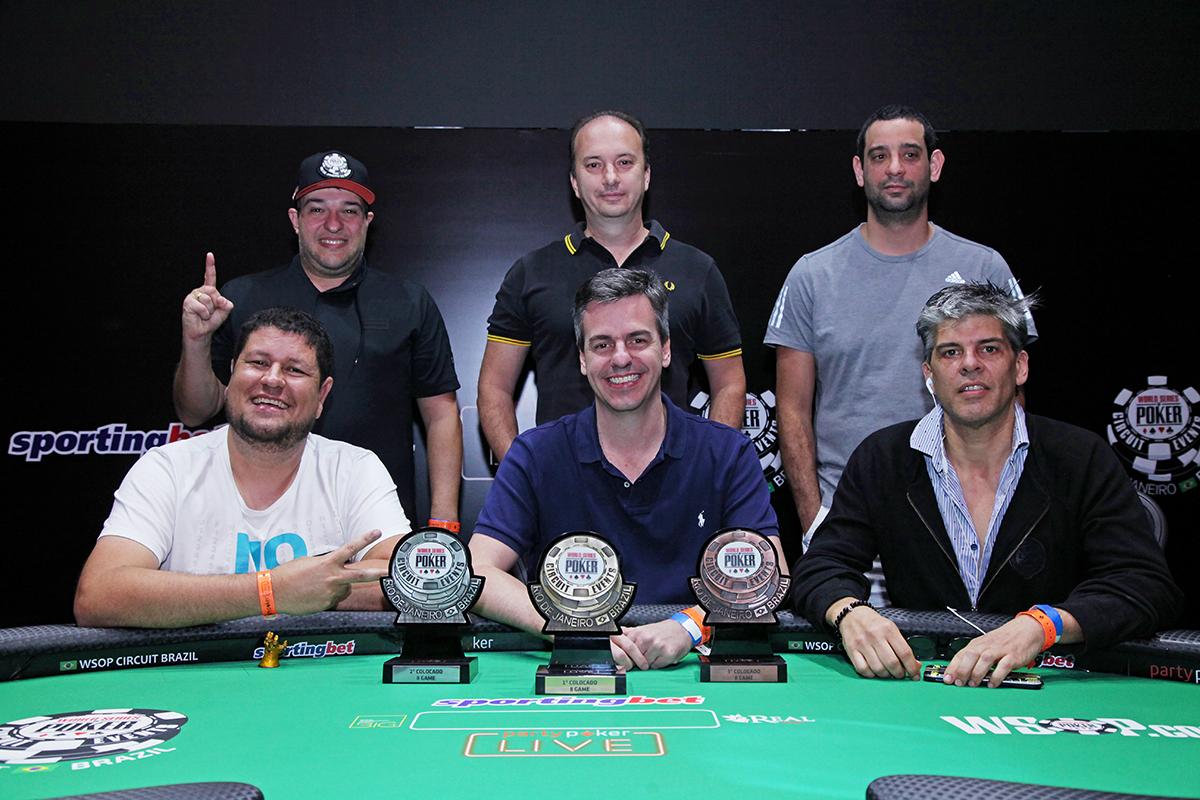 Mesa Final 8-Game - WSOP Brazil