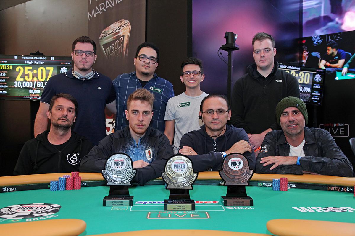 Mesa Final High Roller - WSOP Brazil