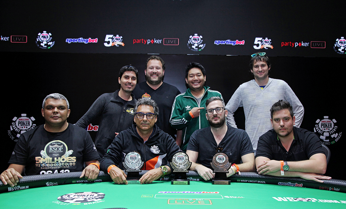 Mesa Final Super High Roller - WSOP Brazil
